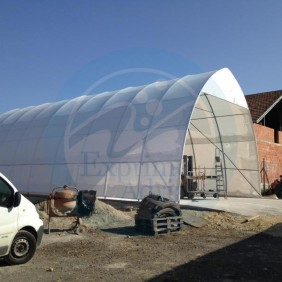 shrink wrap - hangars