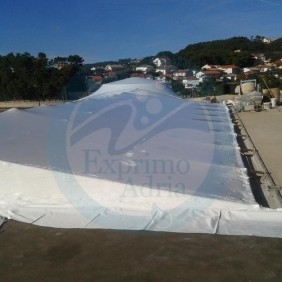shrink wrap - buildings