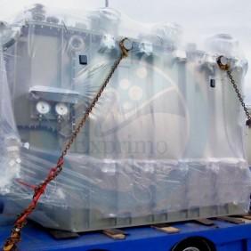 termoskupljajuća folija - transport tereta